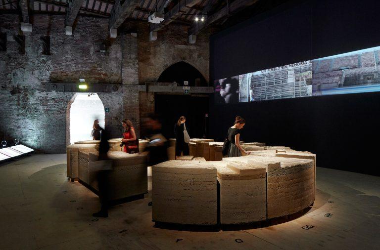 Chile inauguró este jueves su pabellón en la 16º Bienal de Arquitectura de Venecia